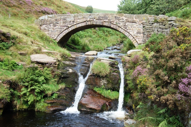 Three Shires Head where Cheshire, Staffordshire and Derbyshire meet